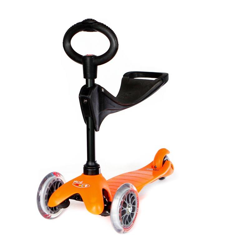 Hulajnoga Micro Mini Seat Baby Pomarańczowy MM0148
